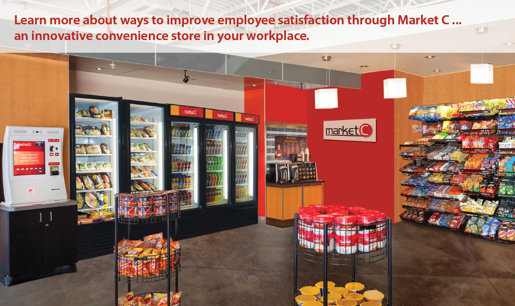 AVI Market C - an innovative convenience store in your workplace