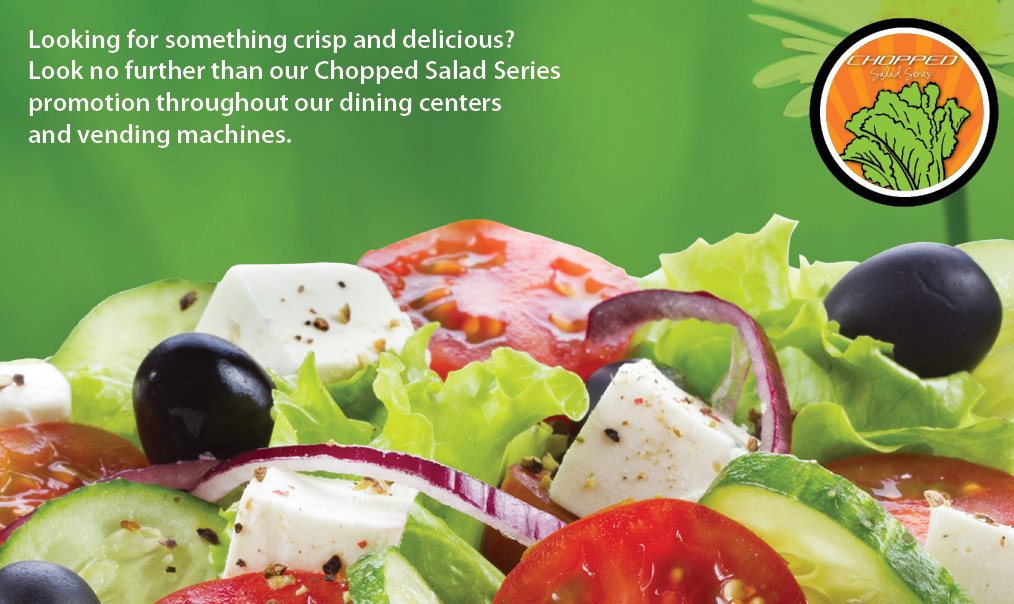May Chopped Salad Series Promotion