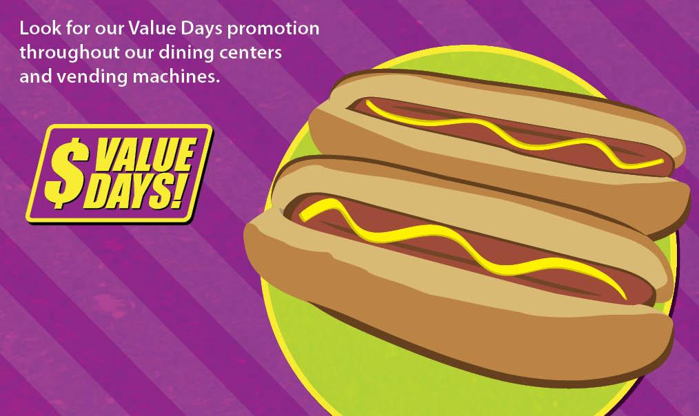 AVI Foodsystems Value Days Promotion for July