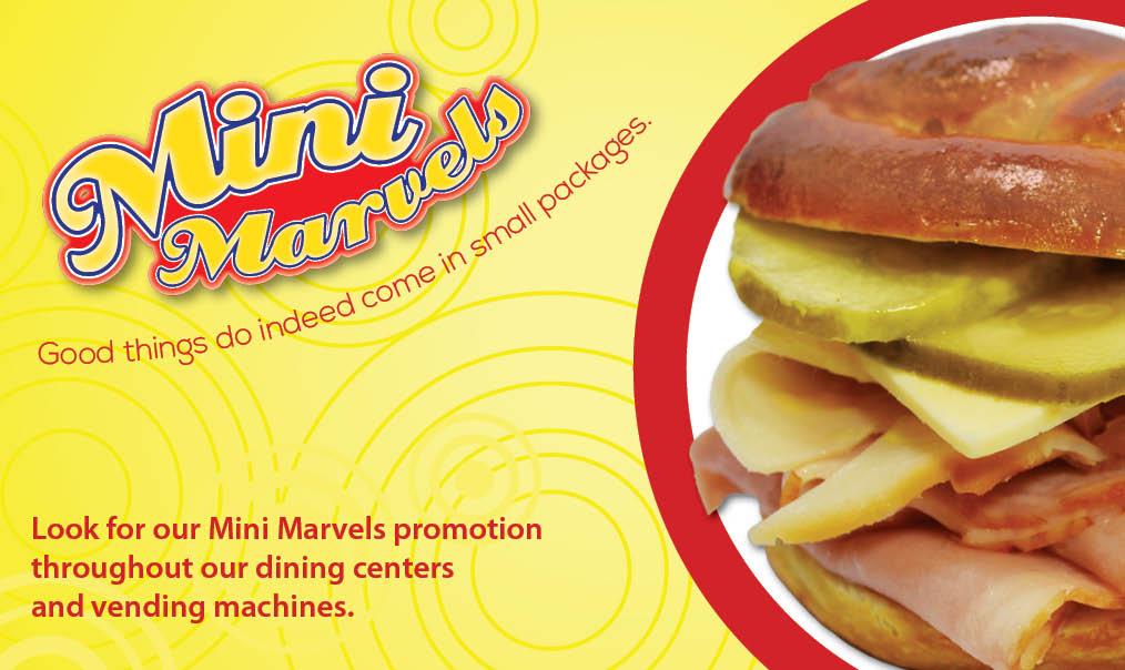 AVI Foodsystems June Mini Marvels Promotion