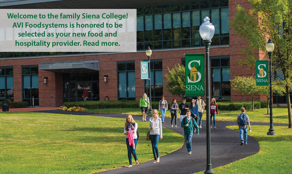 Siena College Selects AVI Foodsystems