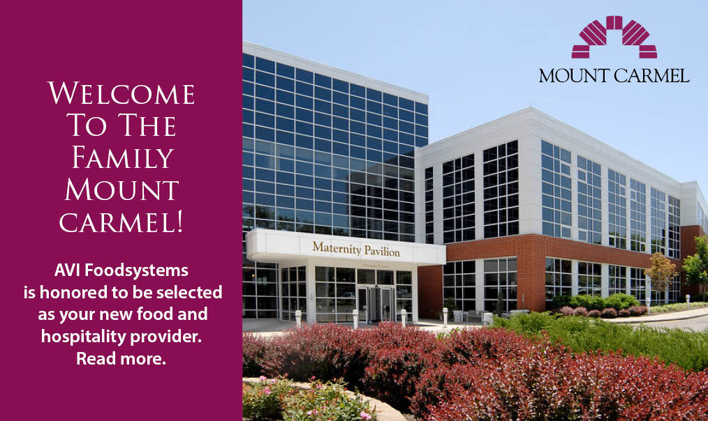 Welcome to the AVI Foodsystems family Mount Carmel
