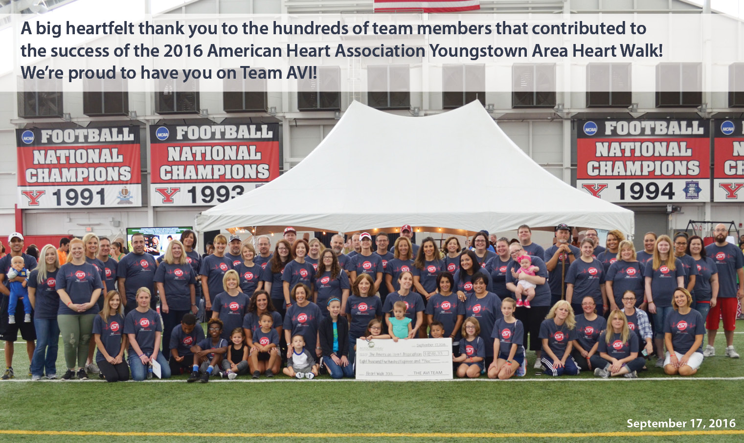 AVI Foodsystems is proud to support the American Heart Association!